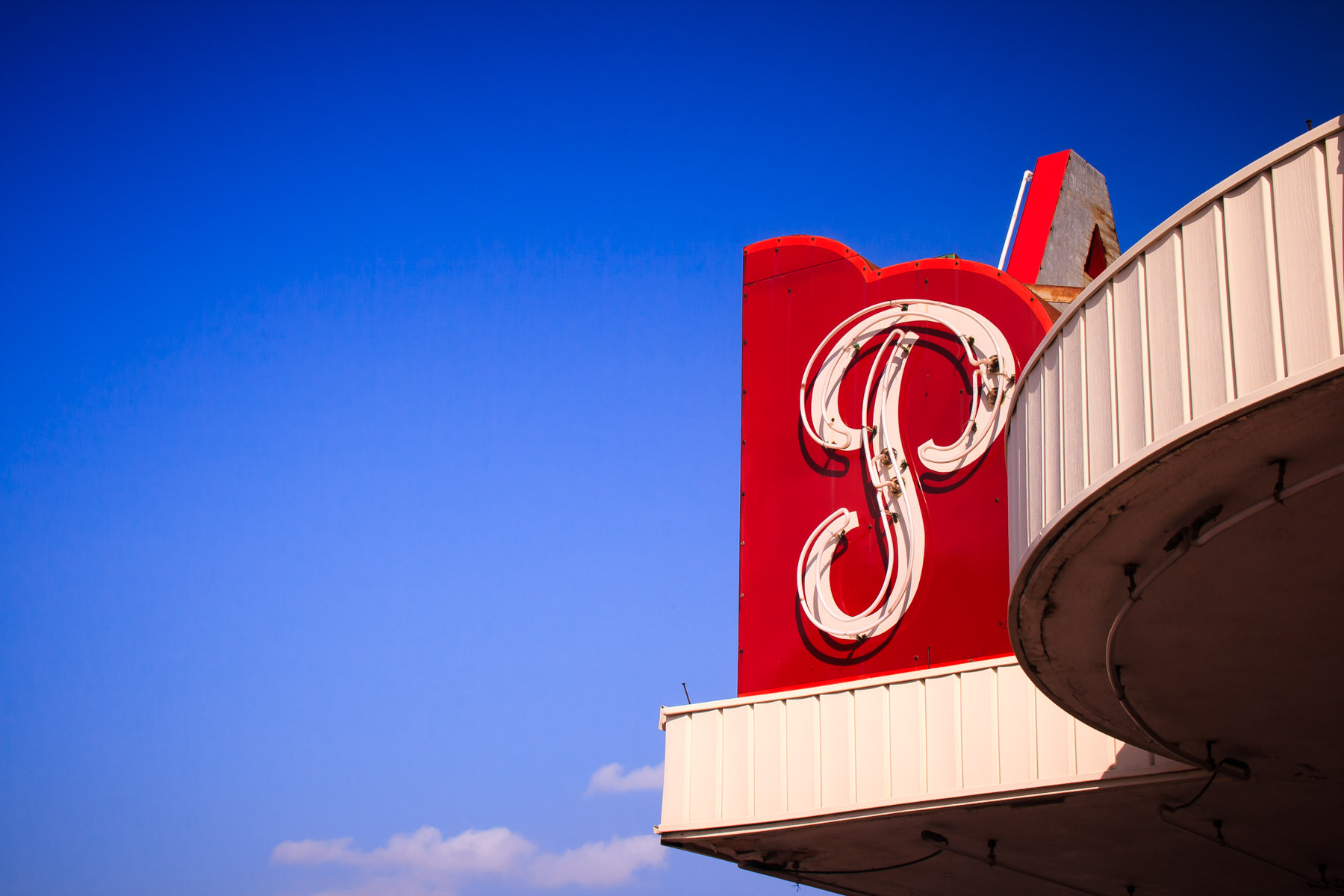 The sign at the Plaza Theatre in Carrollton, Texas.