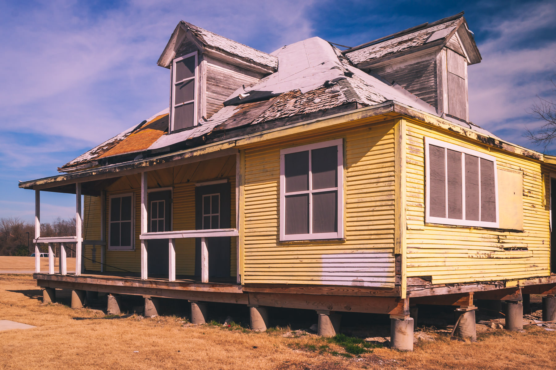 An abandoned house in Allen, Texas.
