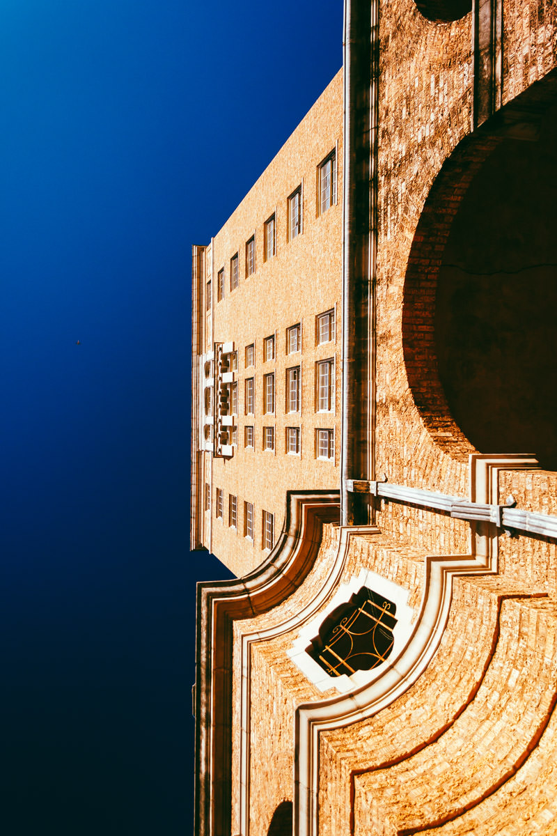 The long-abandoned Baker Hotel in Mineral Wells, Texas.