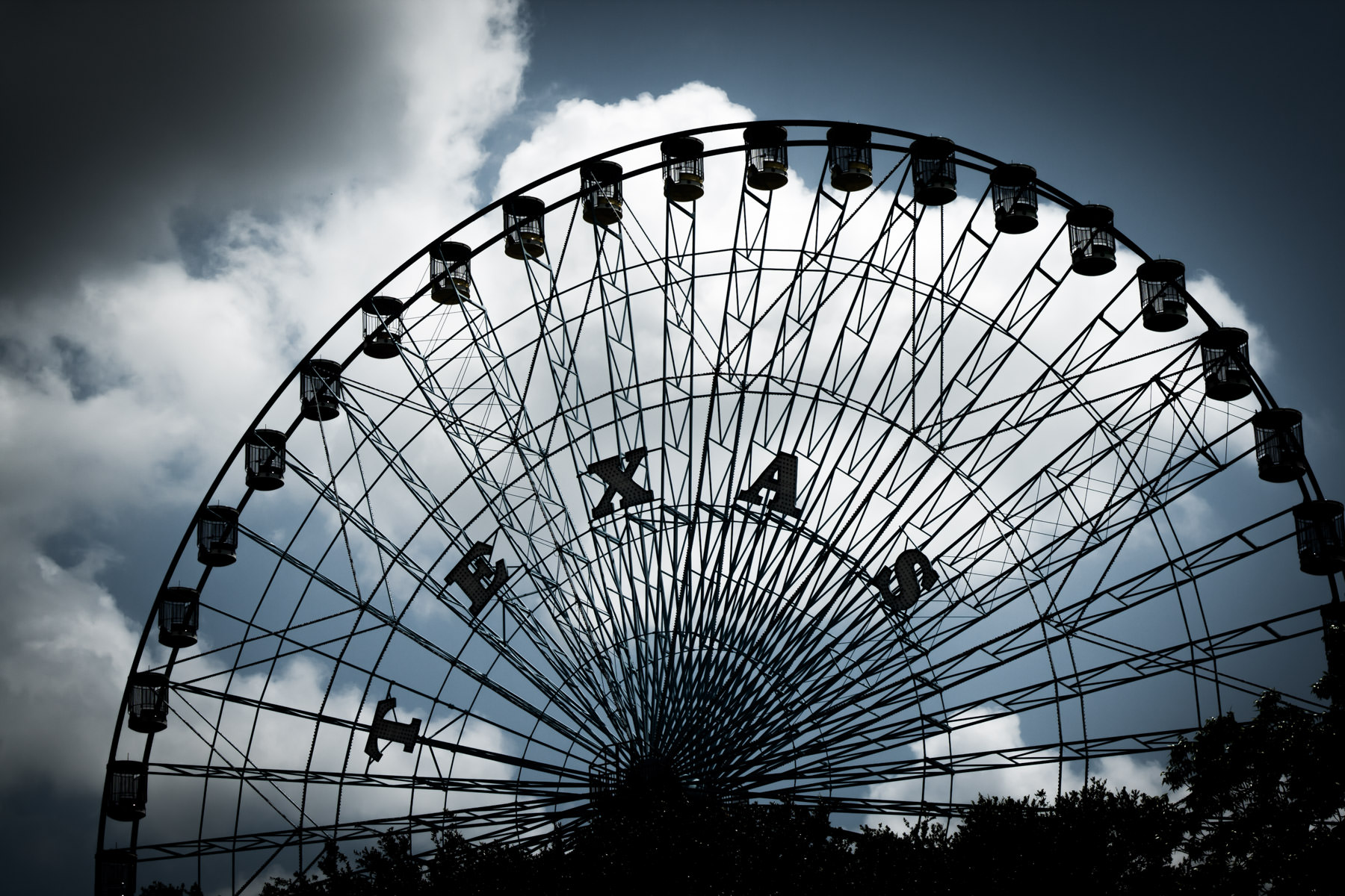 The Texas Star Ferris Wheel, Fair Park, Dallas.