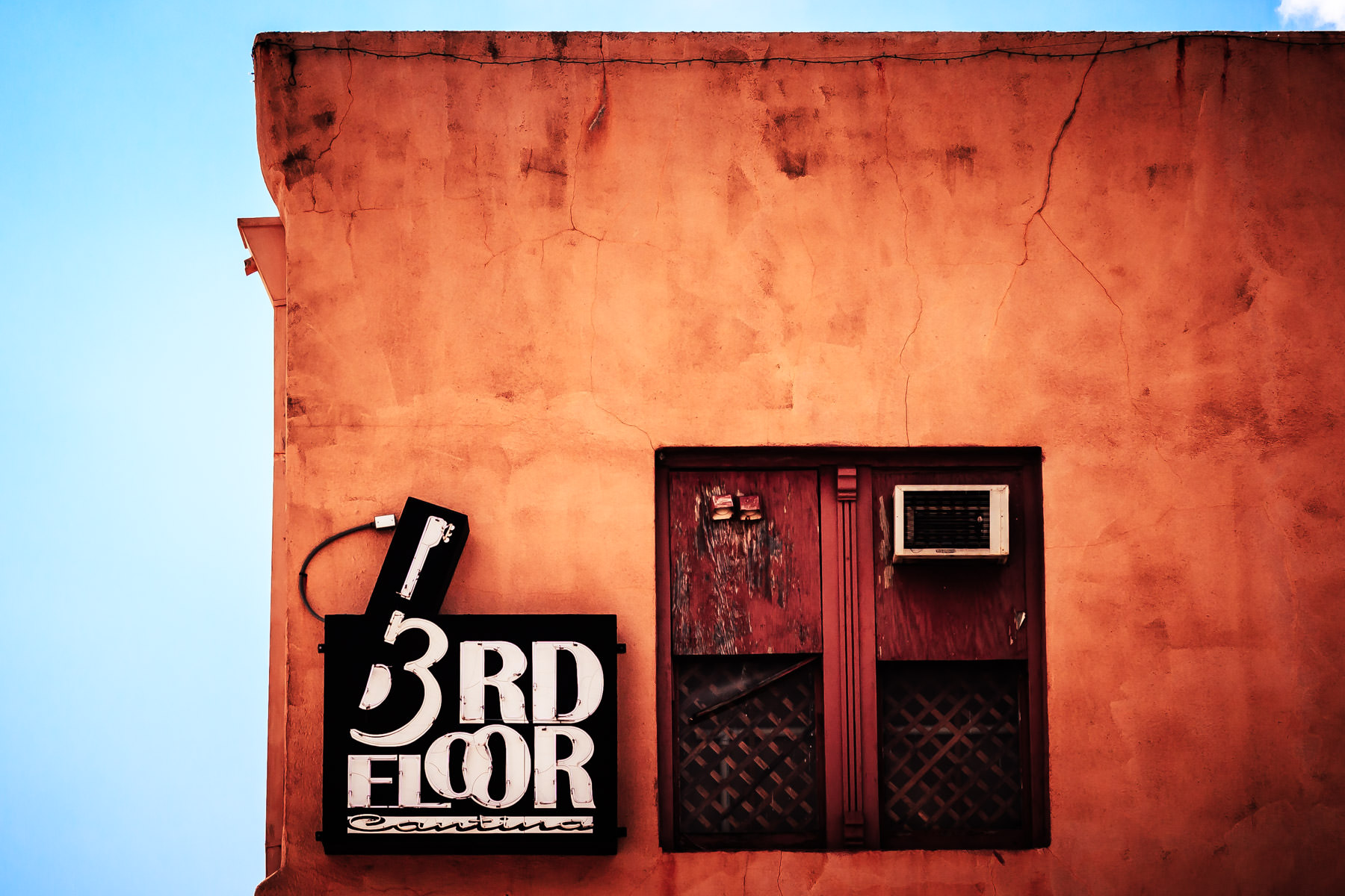The 3rd Floor Cantina—a live music venue—in Downtown Bryan, Texas.