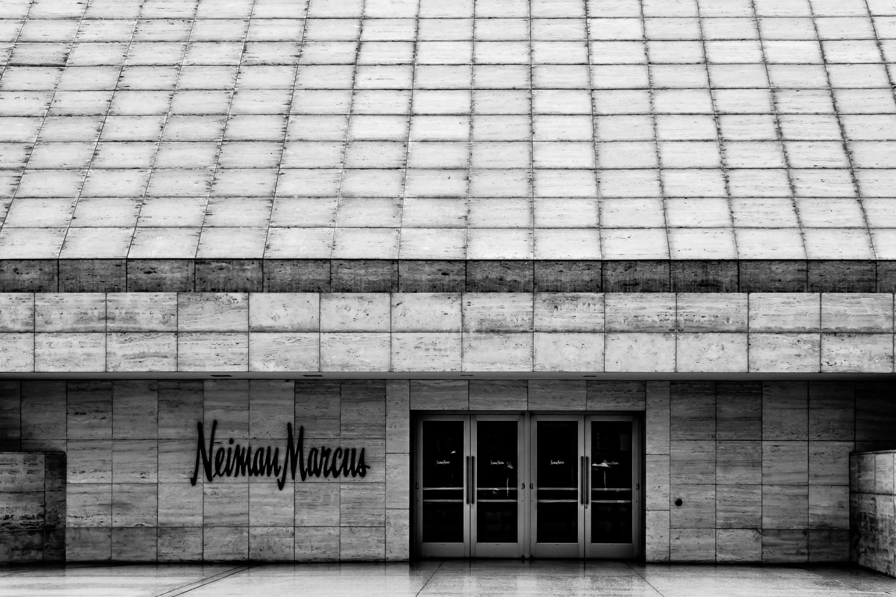 The Neiman Marcus department store at Las Vegas' Fashion Show Mall.