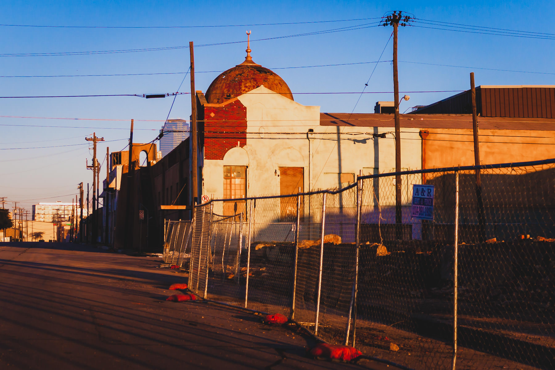 Little Baghdad was a four block area of The Cedars neighborhood south of Downtown Dallas that was made to look like part of an Iraqi village for the filming of the NBC made-for-TV movie Saving Jessica Lynch.