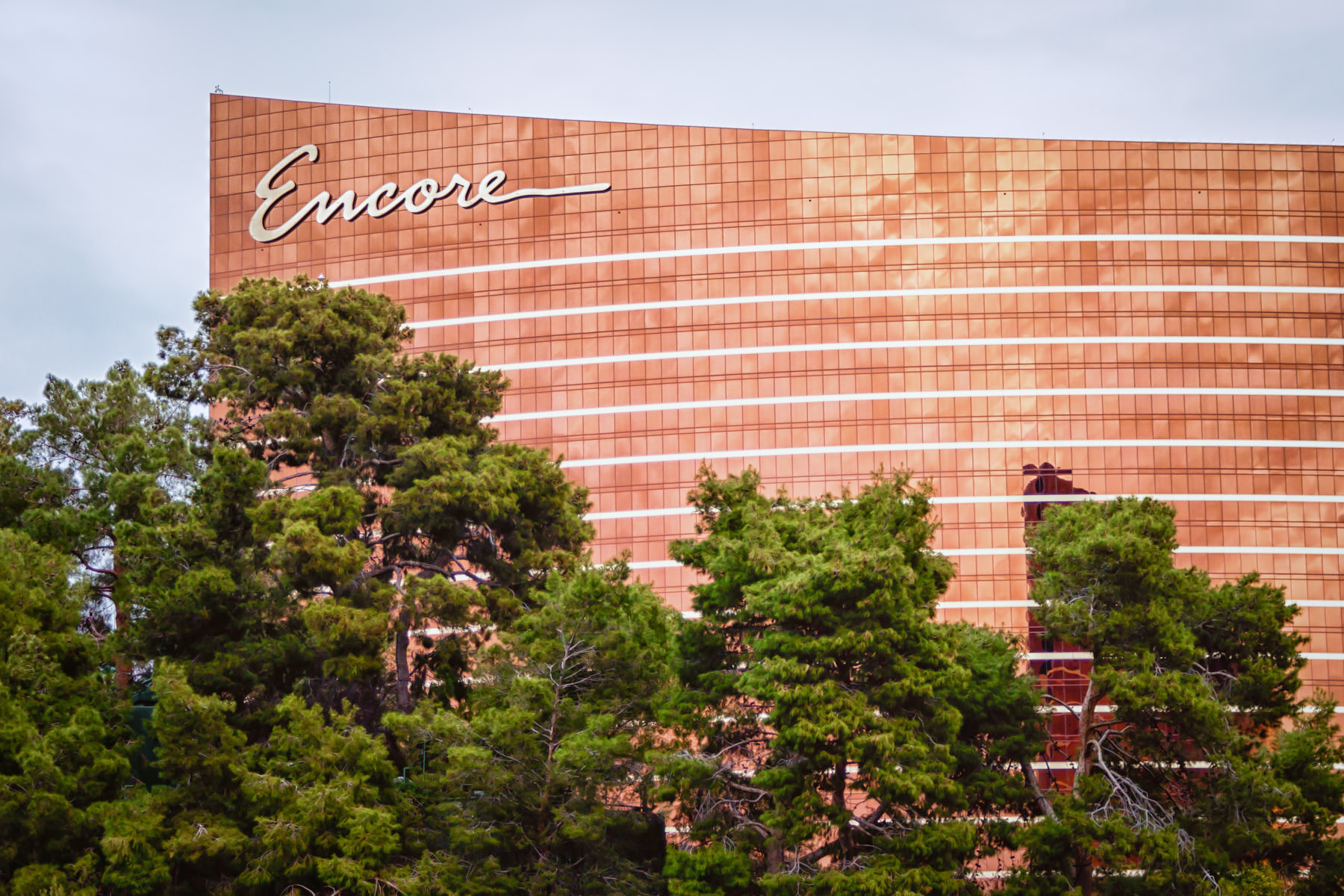 Steve Wynn's Encore Hotel and Casino, Las Vegas.