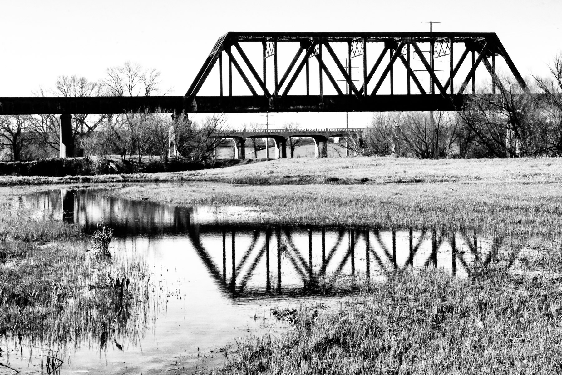 dallas rail truss bridge