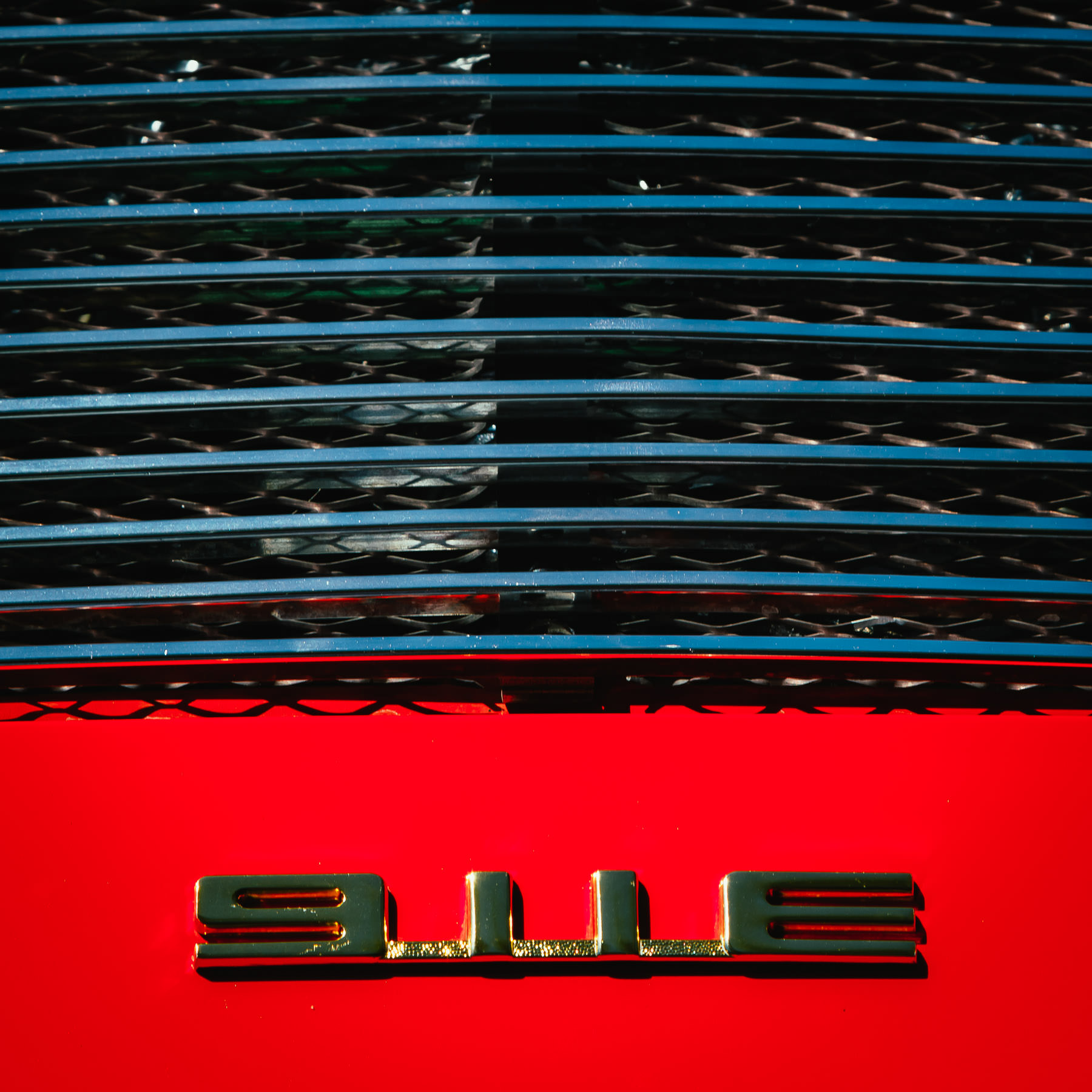 Detail of a Porsche 911E at Dallas' Autos in the Park event at the Cooper Institute.
