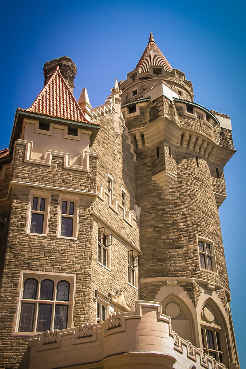 "Casa Loma is a 98-room ""castle"" was built by Sir Henry Mill Pellatt in Toronto in 1914."