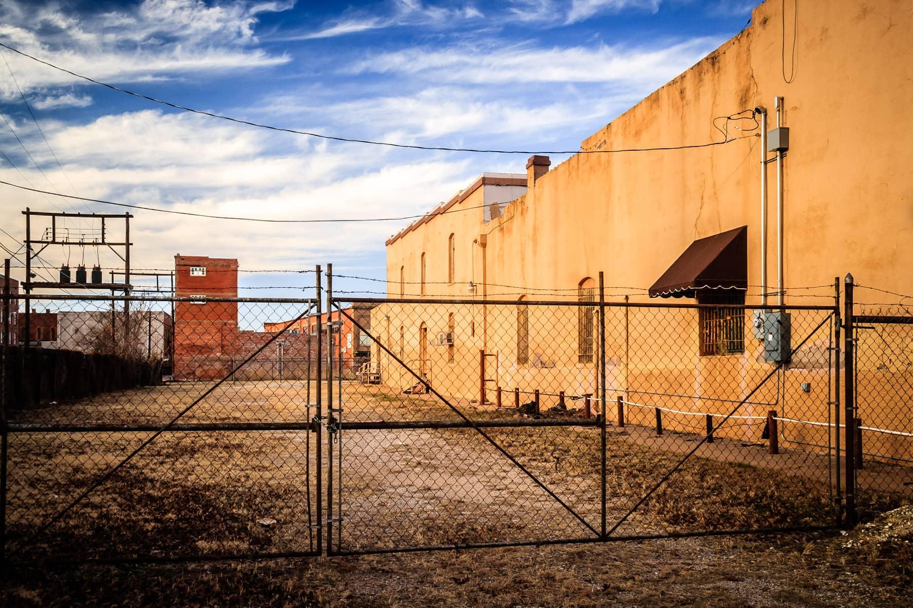 Urban decay in Downtown Wichita Falls, Texas.
