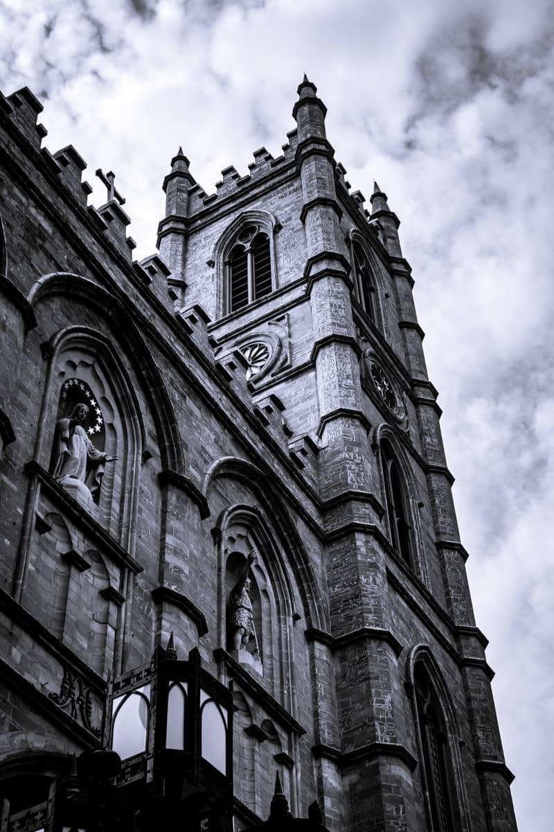 The La basilique Notre-Dame de Montréal In Montréal's Ville-Marie arrondissement.