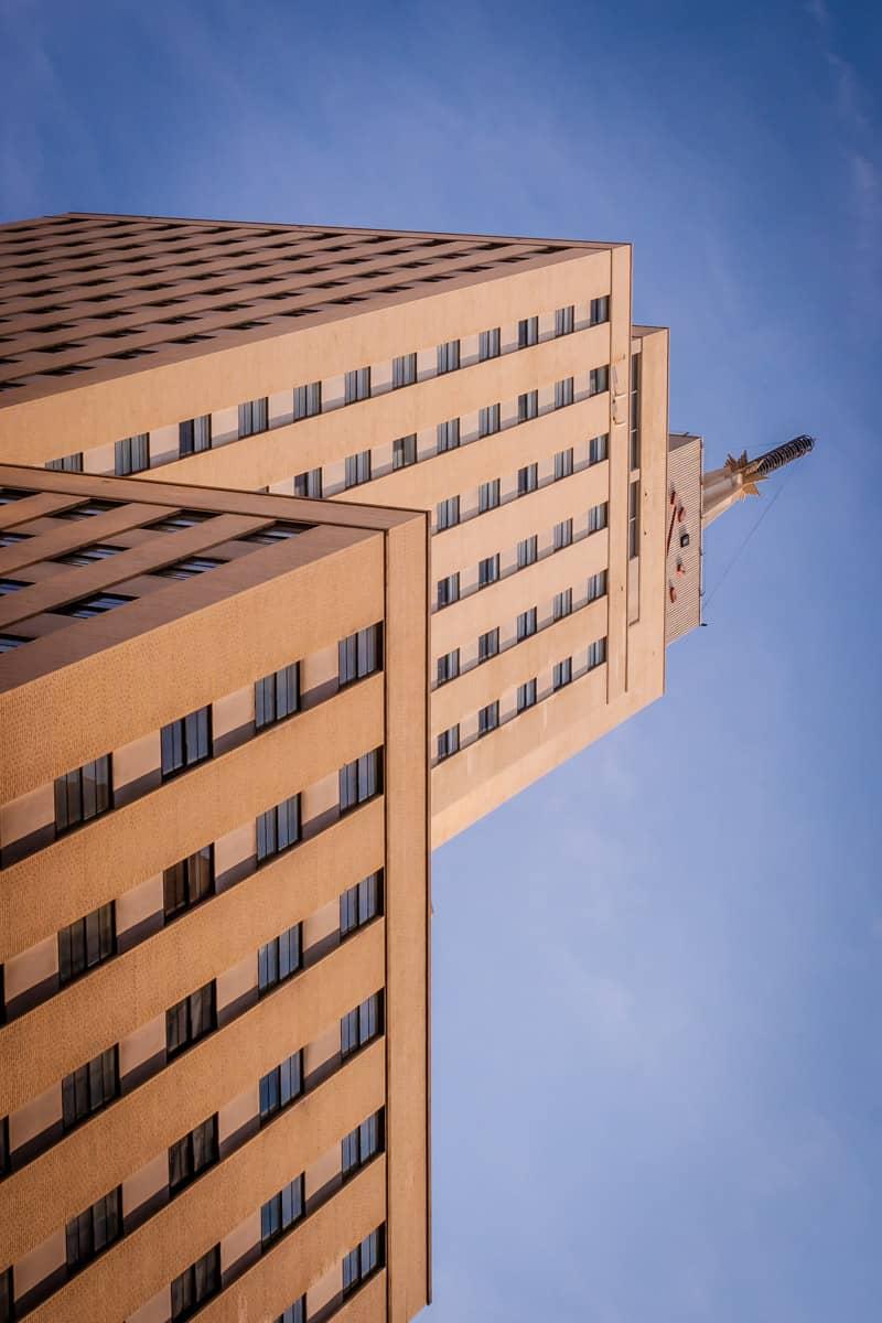 The reborn Mercantile Bank building in Downtown Dallas.