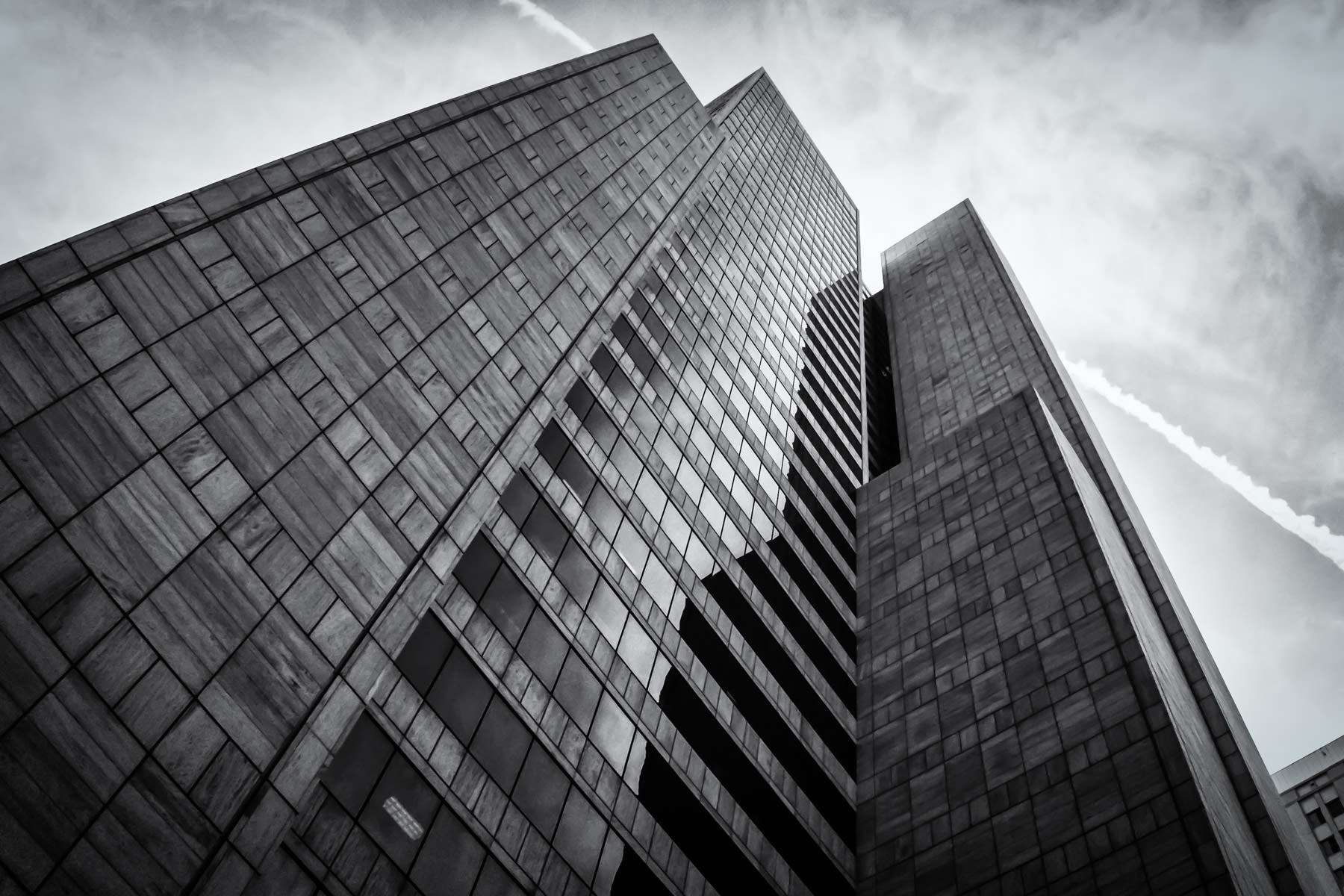 One AT&T Plaza— also known as the Whitacre Tower—serves as the world headquarters of AT&T in Dallas.