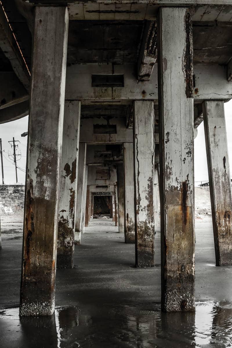 galveston pier supports