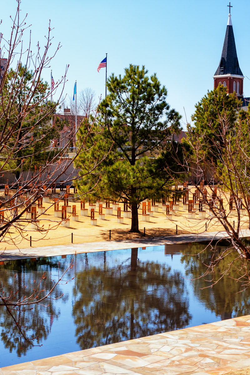 The Oklahoma City National Memorial.
