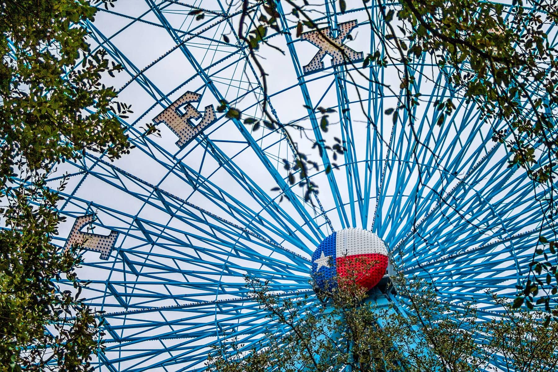 Dallas' Texas Star Ferris Wheel, located in Fair Park.