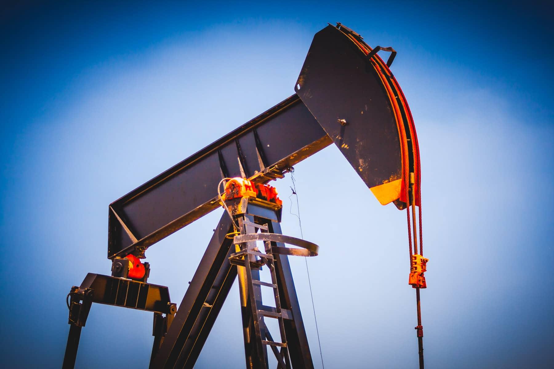 An oil pumpjack spotted near Celina, Texas.