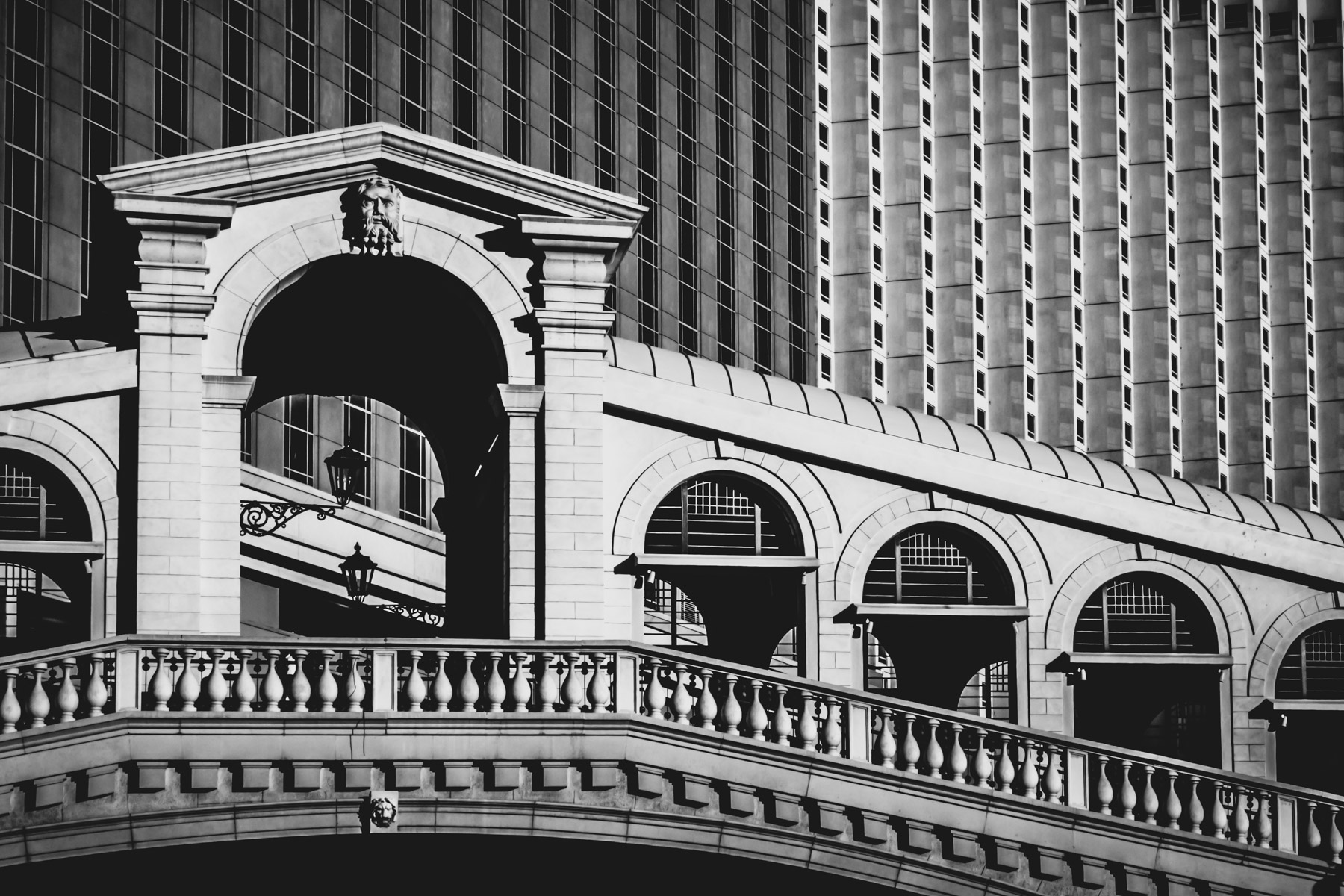 In Las Vegas, the Venetian's re-creation of Venice's Rialto Bridge.
