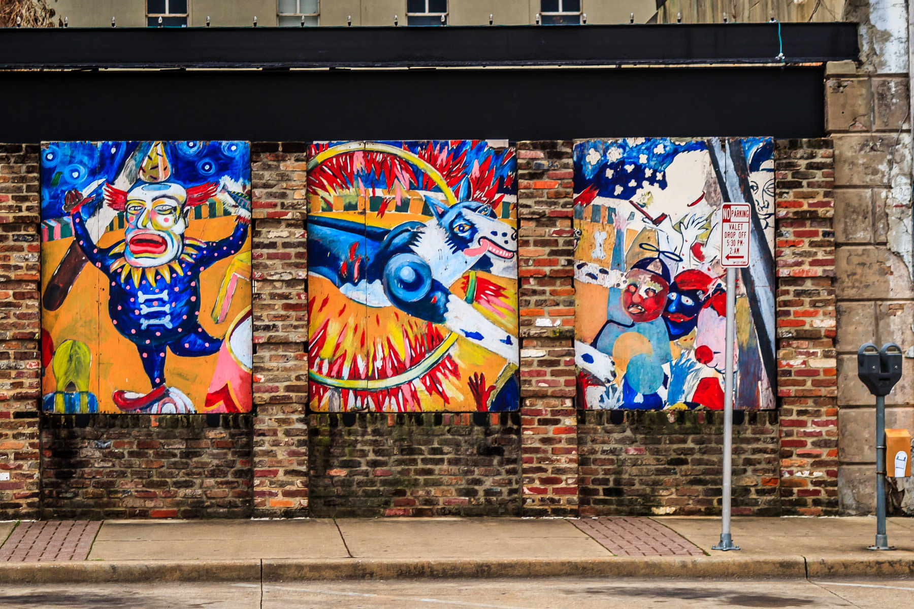 Public art in Downtown Tyler, Texas.