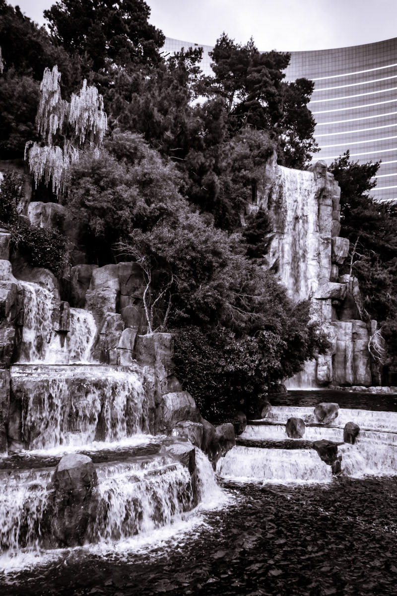 Waterfalls at the Wynn, Las Vegas.