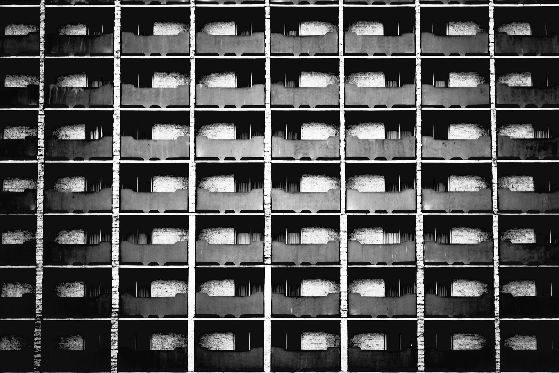 Exterior abstract study of the Imperial Palace, Las Vegas.