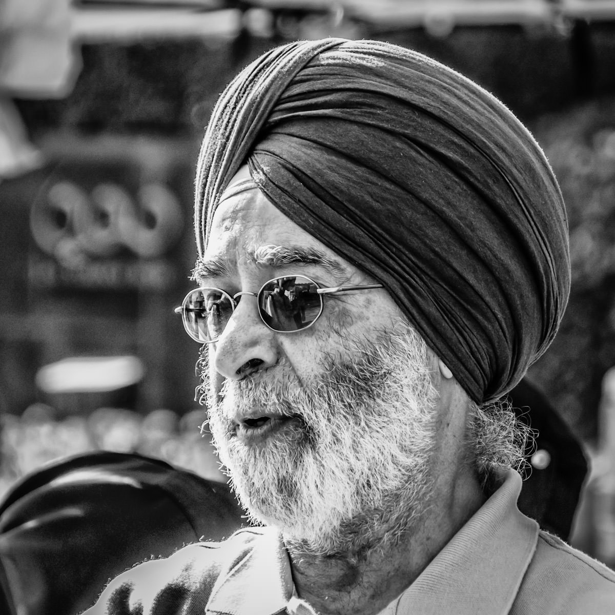 A Sikh gentleman spotted at the DFW Dragon Boat Festival, Las Colinas, Irving, Texas.