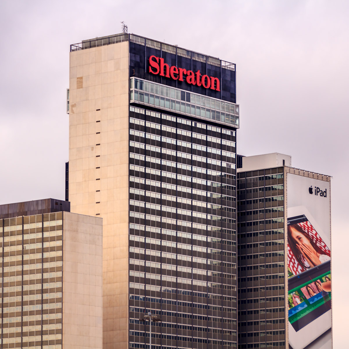 The Sheraton Hotel (formerly the Adams Mark) in Downtown Dallas.