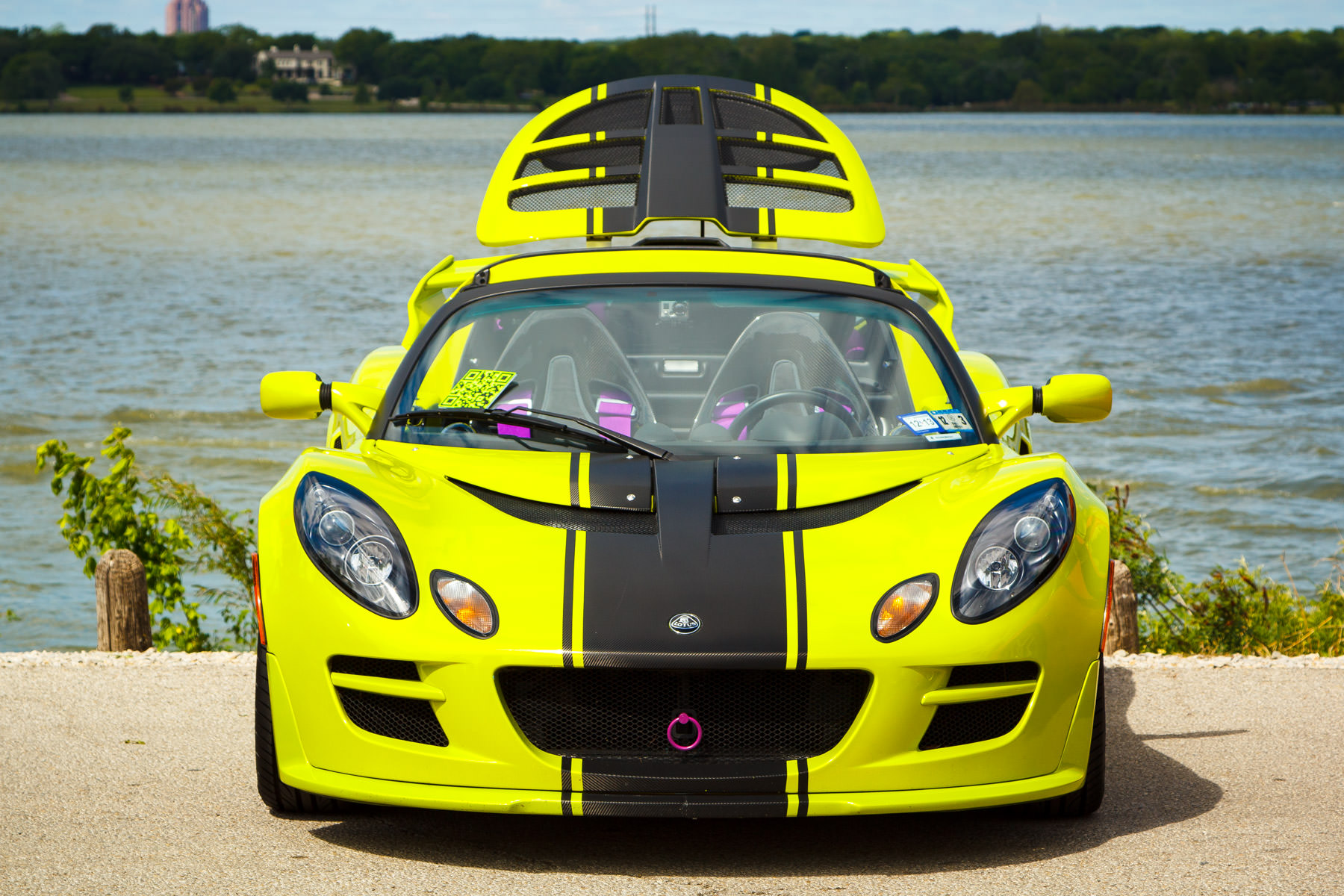 A Lotus at Dallas' All British and European Car Day.