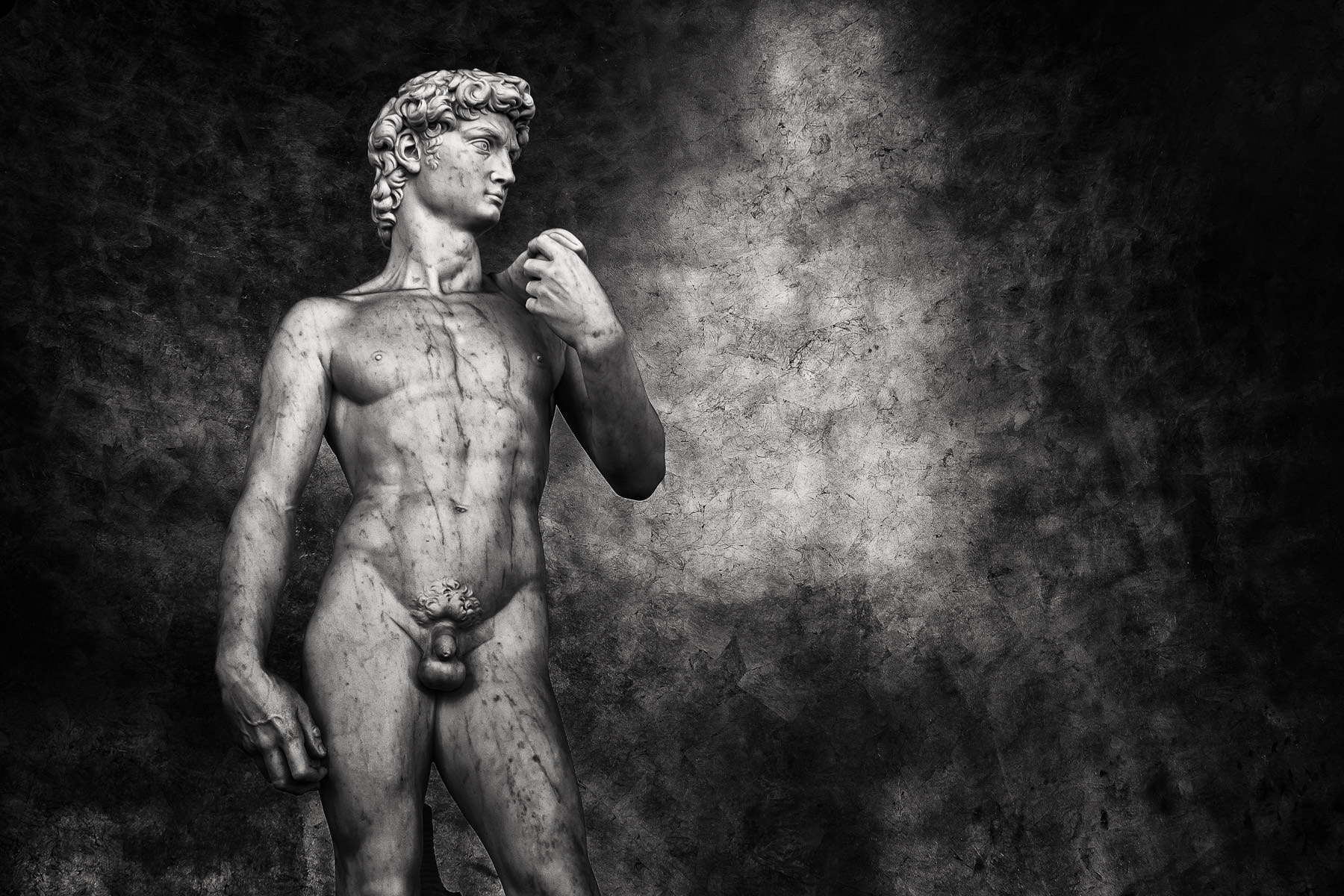 A reproduction of Michelangelo's David at Caesars Palace, Las Vegas.