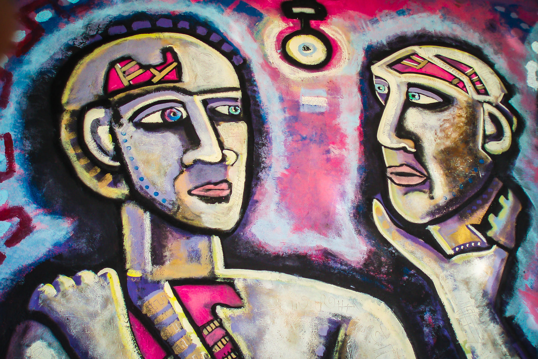 More artwork from the Deep Ellum Good-Latimer Tunnel in Dallas, before it was demolished. You can view my entire photos essay on the Good-Latimer Tunnel's artwork here.