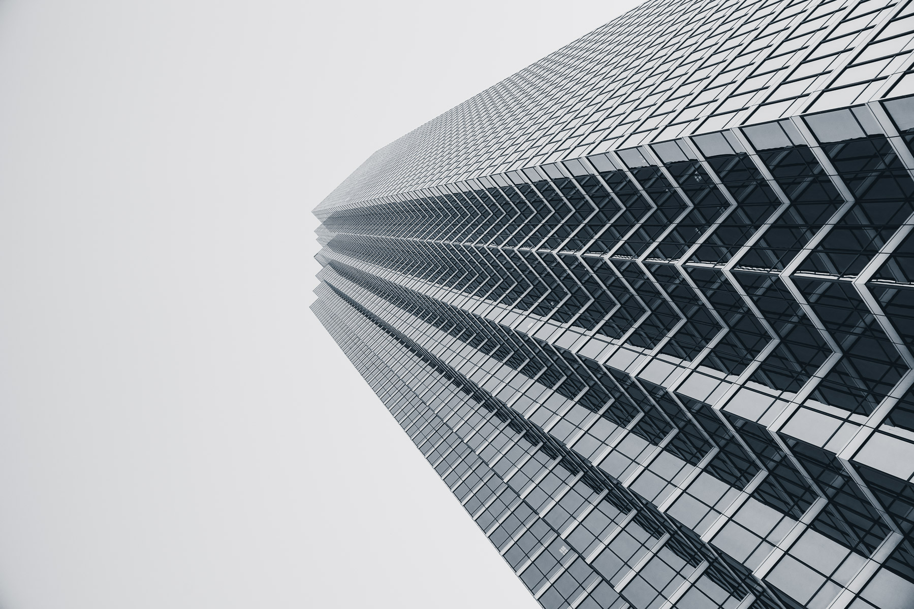 Dallas' Bank of America Plaza stretches into the North Texas sky.